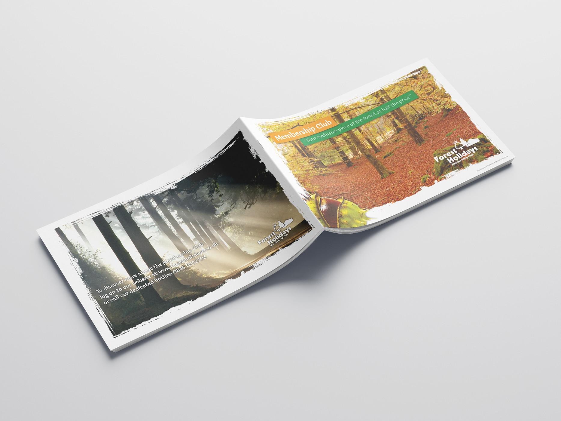 Forest Holidays Membership Brochure