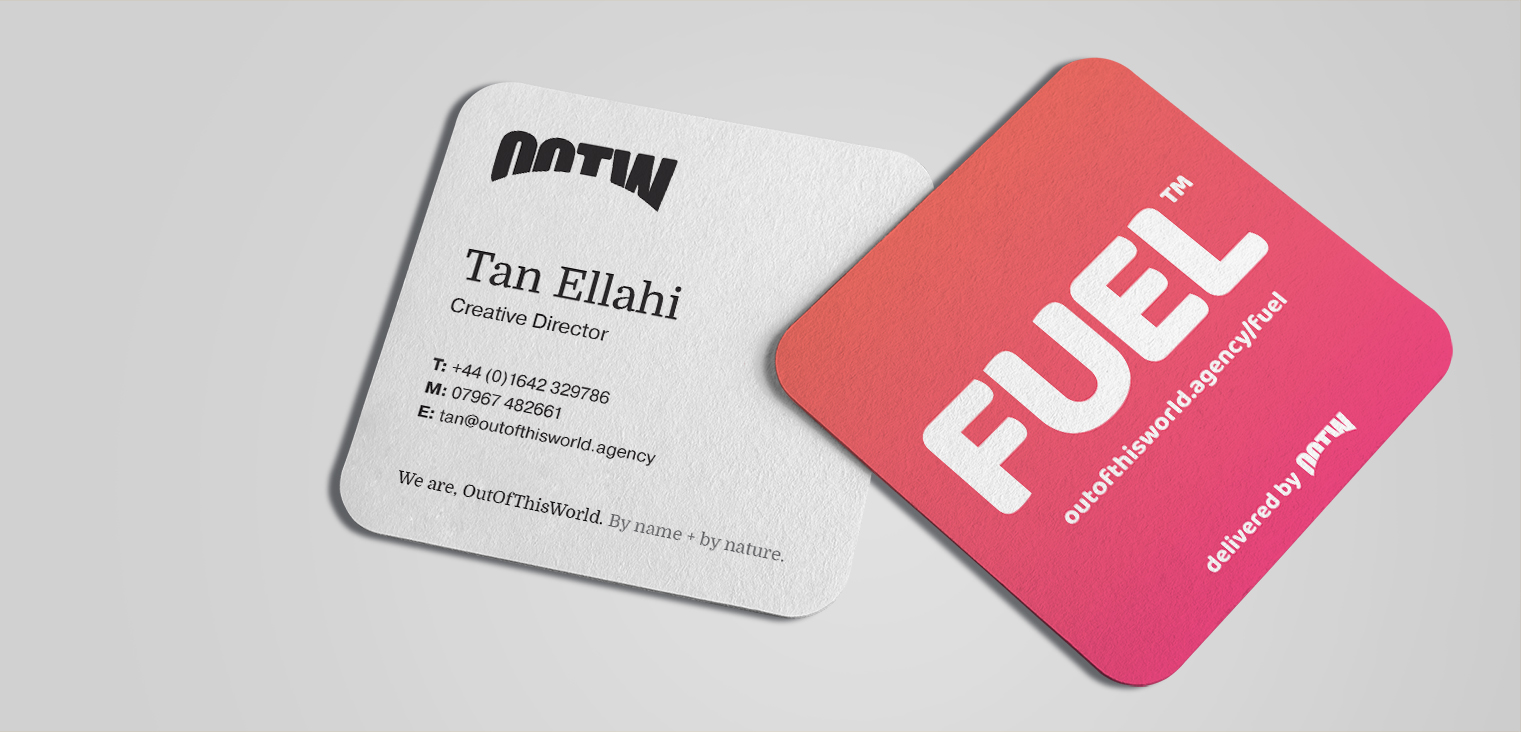 FUEL™ Square Business Cards
