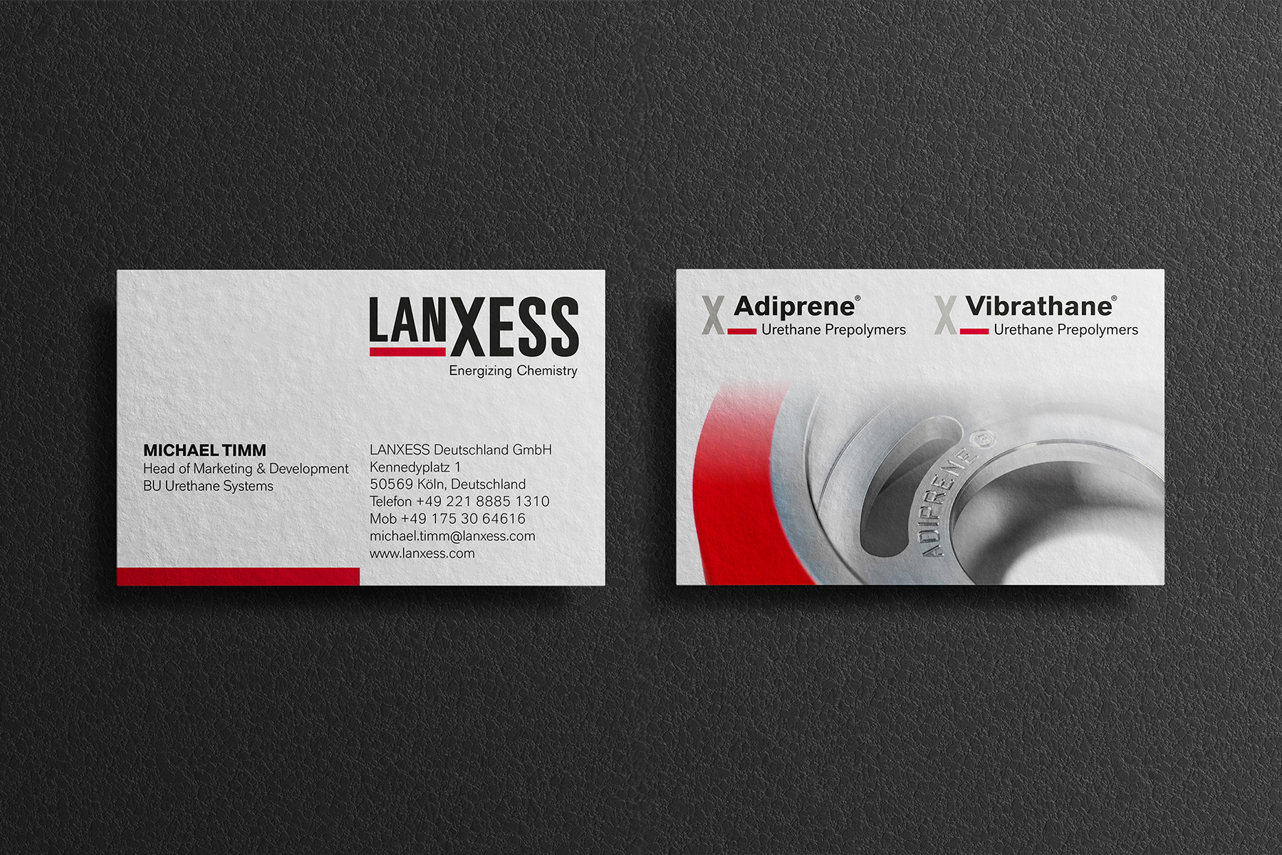 LANXESS Business Cards