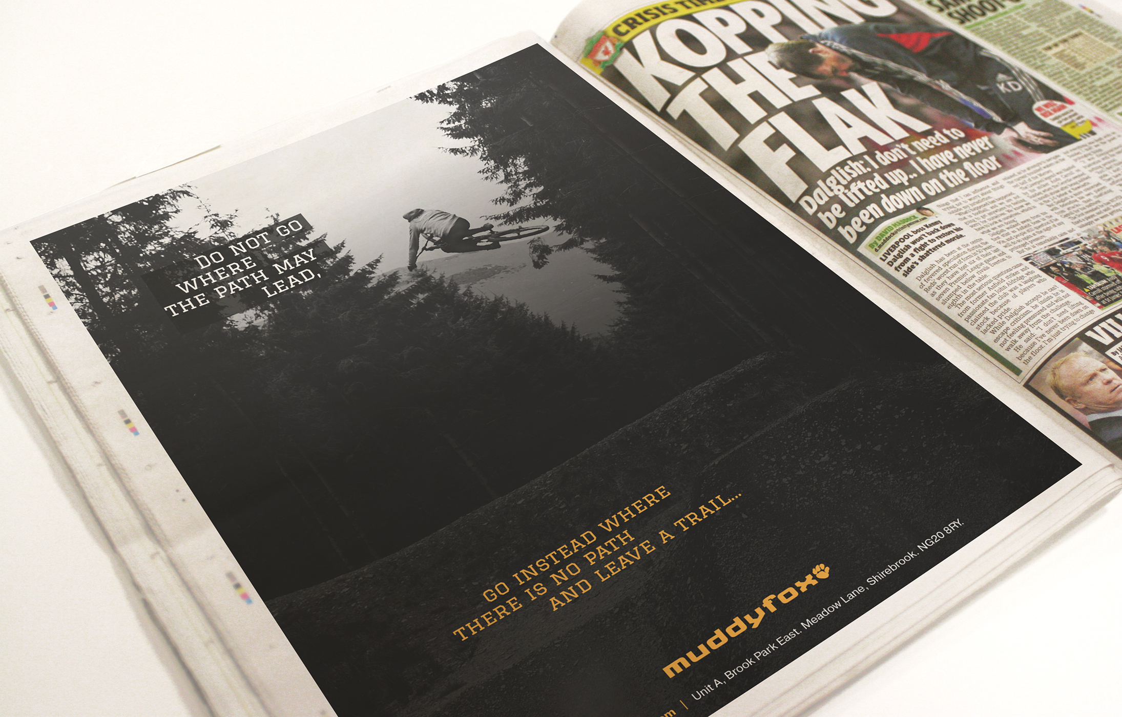 Muddyfox Full Page Press Advertisment