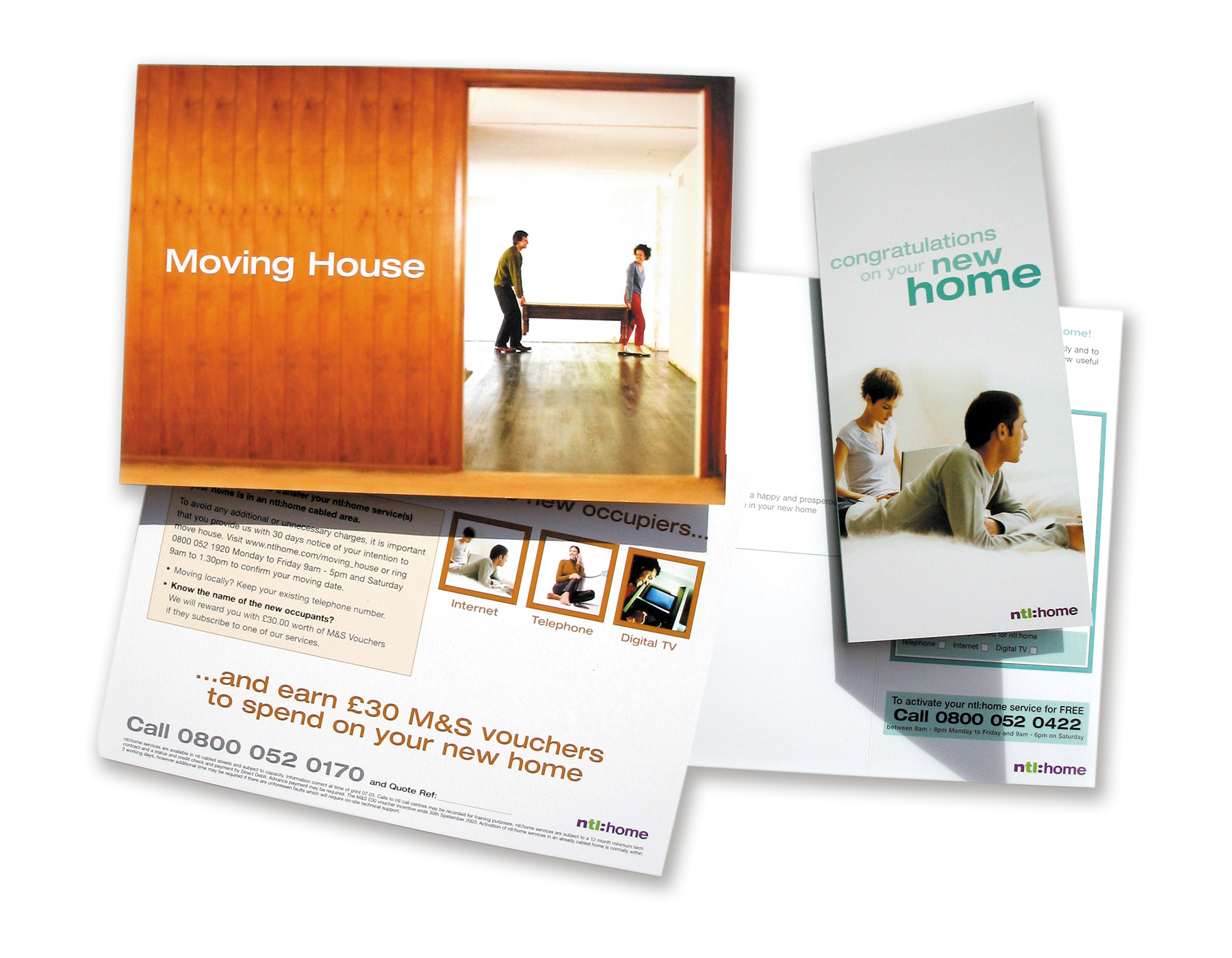 NTL Moving Home Direct Mail