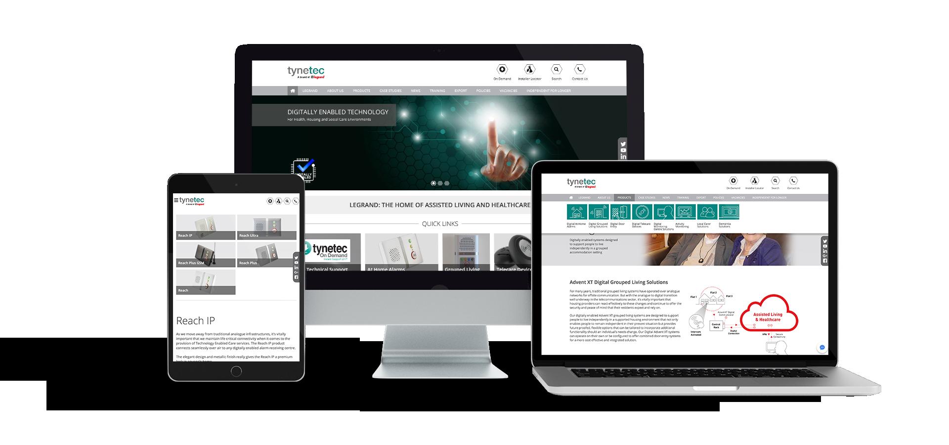 Tynetec Website