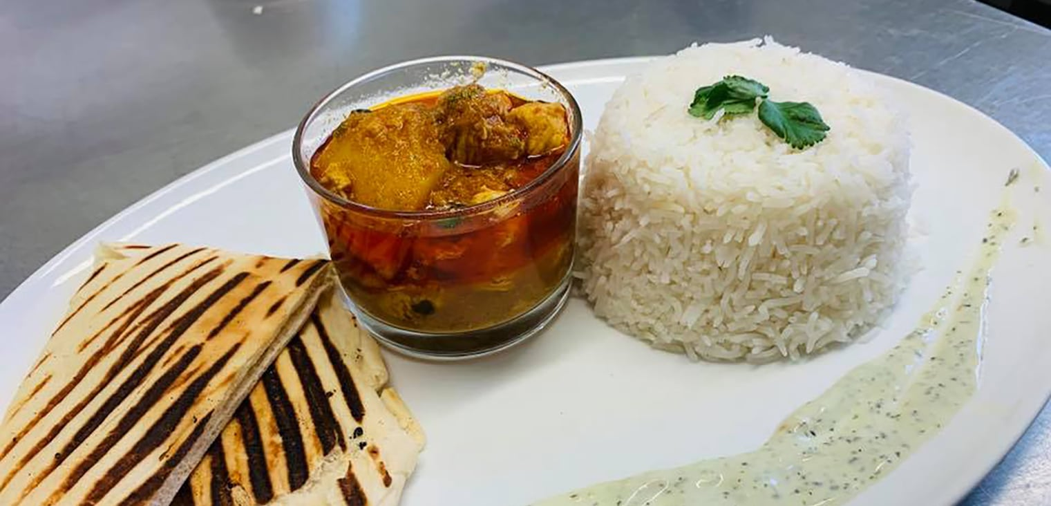 Rice and Curry by Ootys